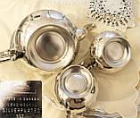 Шикарный посеребренный чайный сервиз, серебрение, Канада, Oneida Silversmith, фото 10