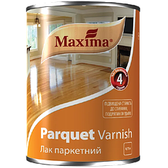 Лак Maxima паркетний глянцевий 0,75 л