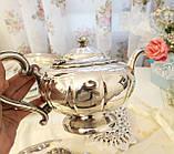 Шикарный посеребренный чайный сервиз, серебрение, Канада, Oneida Silversmith, фото 9