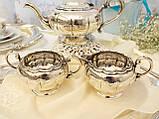Шикарный посеребренный чайный сервиз, серебрение, Канада, Oneida Silversmith, фото 3
