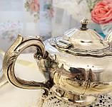 Шикарный посеребренный чайный сервиз, серебрение, Канада, Oneida Silversmith, фото 8