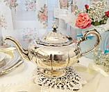 Шикарный посеребренный чайный сервиз, серебрение, Канада, Oneida Silversmith, фото 2