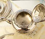 Шикарный посеребренный чайный сервиз, серебрение, Канада, Oneida Silversmith, фото 5