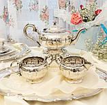Шикарный посеребренный чайный сервиз, серебрение, Канада, Oneida Silversmith, фото 6