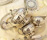 Шикарный посеребренный чайный сервиз, серебрение, Канада, Oneida Silversmith, фото 7