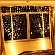 Гирлянда Бахрома 4x0,6 метра 96 LED, 19 нитей, 220В, IP44, (улица и дом)  СС-1792-65, фото 2