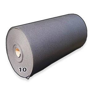 Химически сшитый вспененный полиэтилен, самоклеящийся, 10 мм (ширина 1м)