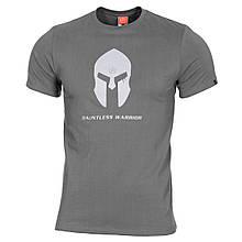 Футболка Pentagon Spartan Helmet Wolf Grey