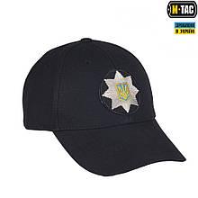 Бейсболка M-TAC POLICE Ріп-стоп Black Size S/M