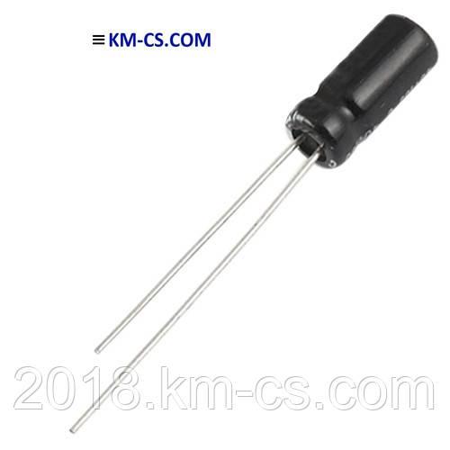 Конденсатор електролітичний C-EL 47uF 63V // RD1J476M6L011PC (SAMWHA)