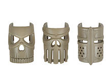 Накладки Хубілай Ornamental Replaceable Mask Grip Set 3pcs Dark Earth