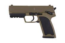 Пістолет Cyma HK USP Metal CM.125 AEP tan