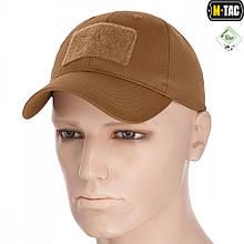 Бейсболка тактична M-Tac Flex Ріп-стоп Velcro Coyote Brown Size L/XL