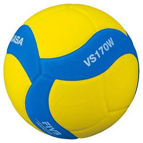 Мяч волейбольный Mikasa VS170W-Y-BL, фото 2