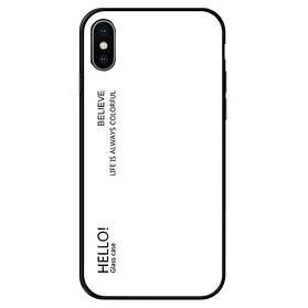 Чехол Gradient Hello для Apple iPhone Xs Max