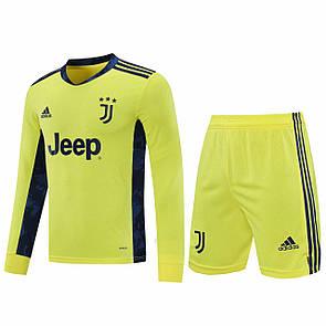Вратарская форма Juventus Ювентус с длинным рукавом, 2020-21