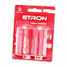 Батарейка ETRON  R20 D 1шт., фото 2