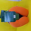 Подушка ортопедическая для путешествий Жёлтая, фото 3