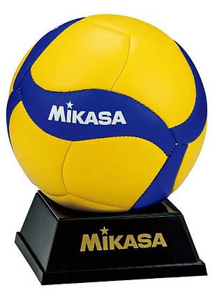 Сувенирный волейбольный мяч Mikasa V1.5W, фото 2