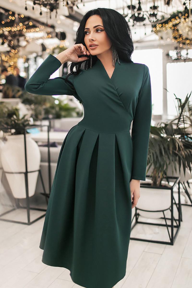 S, M, L, XL | Вечірнє жіноче плаття Garona, темно-зелений