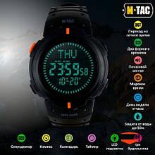 Годинник з компасом M-Tac Black