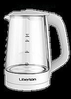 Чайник электрический Liberton LEK-1712 1,7 л белый, фото 1
