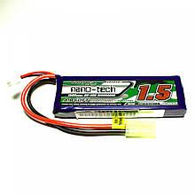 Акумулятор Turnigy Nano-Tech LiPo 7,4V 1500mAh 20-40C