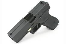 Пістолет WE Double Barrel Glock 17 Gen.3 GBB