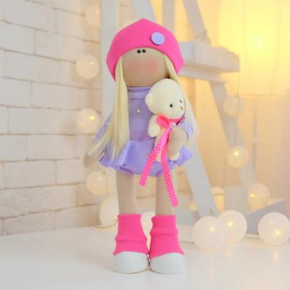 Подарки, мягкие игрушки, куклы-тильды. Текстильная куколка ГИМНАСТКА ЛИКА :)