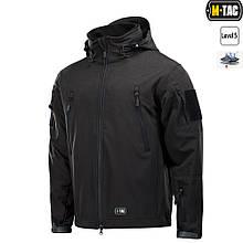 Куртка Soft-Shell M-Tac з Підстьожкою Black Size M