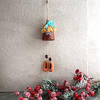 Домашний оберег Домовой Кузя, керамический оберег очага