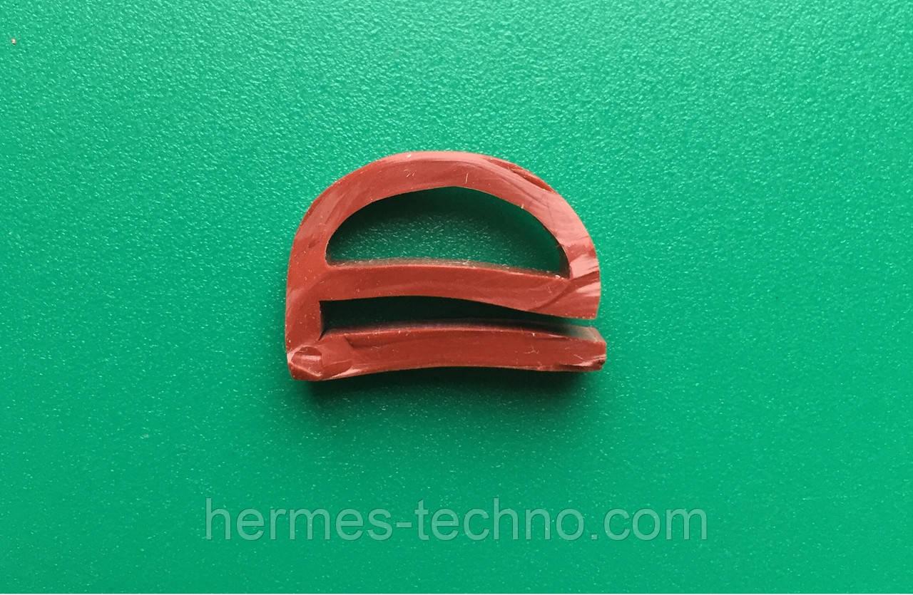 Профиль силиконовый е-образный 15*21мм
