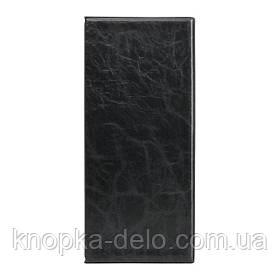 Визитница 2502-01-А для 80 визиток, со впаянными файлами. . Материал обложки: винил. Цвет: черный.