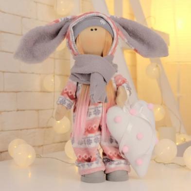 Подарки, мягкие игрушки, куклы-тильды. Текстильная куколка Нюша :)