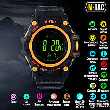 Годинник M-TAC Тактичний Adventure Black/Orange