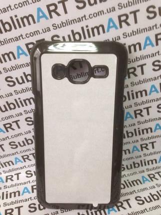 Чехол для 2D сублимации пластиковый на Samsung Galaxy j5 (j500) 2015черный, фото 2
