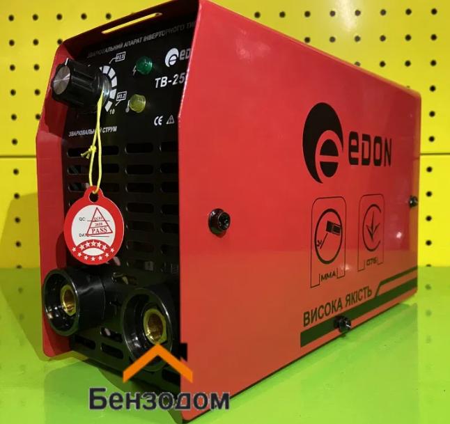 Зварювальний інвертор Edon TB-250C