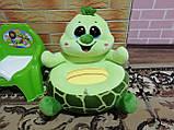 Мягкое детское кресло Черепаха, фото 2