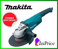 Угловая шлифовальная машина Makita GA 9020 + бесключевая гайка, кутова шліфмашина, турбинка
