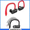 Беспроводные наушники AWEI T2 Twins Earphones Red внутриканальные, Bluetooth, фото 4