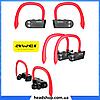 Беспроводные наушники AWEI T2 Twins Earphones Red внутриканальные, Bluetooth, фото 5