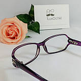 +1.0 Готовые диоптрические женские очки +1.0 в пластиковой оправе, фото 6
