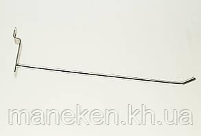 Крючок с креплением на эконом-панель L20Ф4,5(С-49) Хром, фото 2
