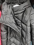 Универсальный женский пуховик DK-81, чёрный, фото 6