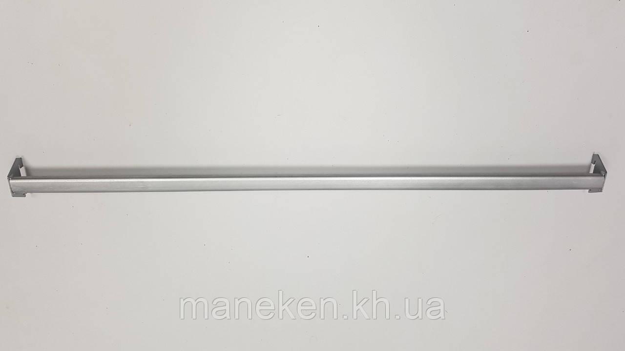 Перекладина-овал к рейке-опоре L 0,9м металлик