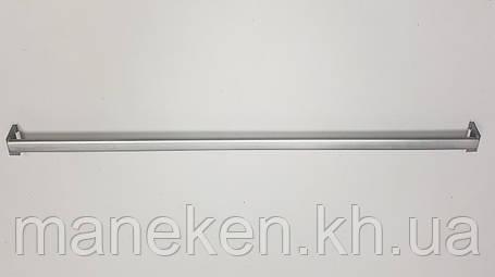 Перекладина-овал к рейке-опоре L 0,9м металлик, фото 2