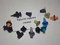 ЯПОНСКИЙ КРЕПЕЖ Комплект клипс листвы/расширителей крыла заднего левого TOYOTA Prado J120 (Тойота Прадо 120)