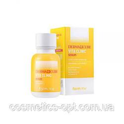Увлажняющий серум с витаминным комплексом FarmStay Derma Cube Vita Clinic Serum, 50 мл