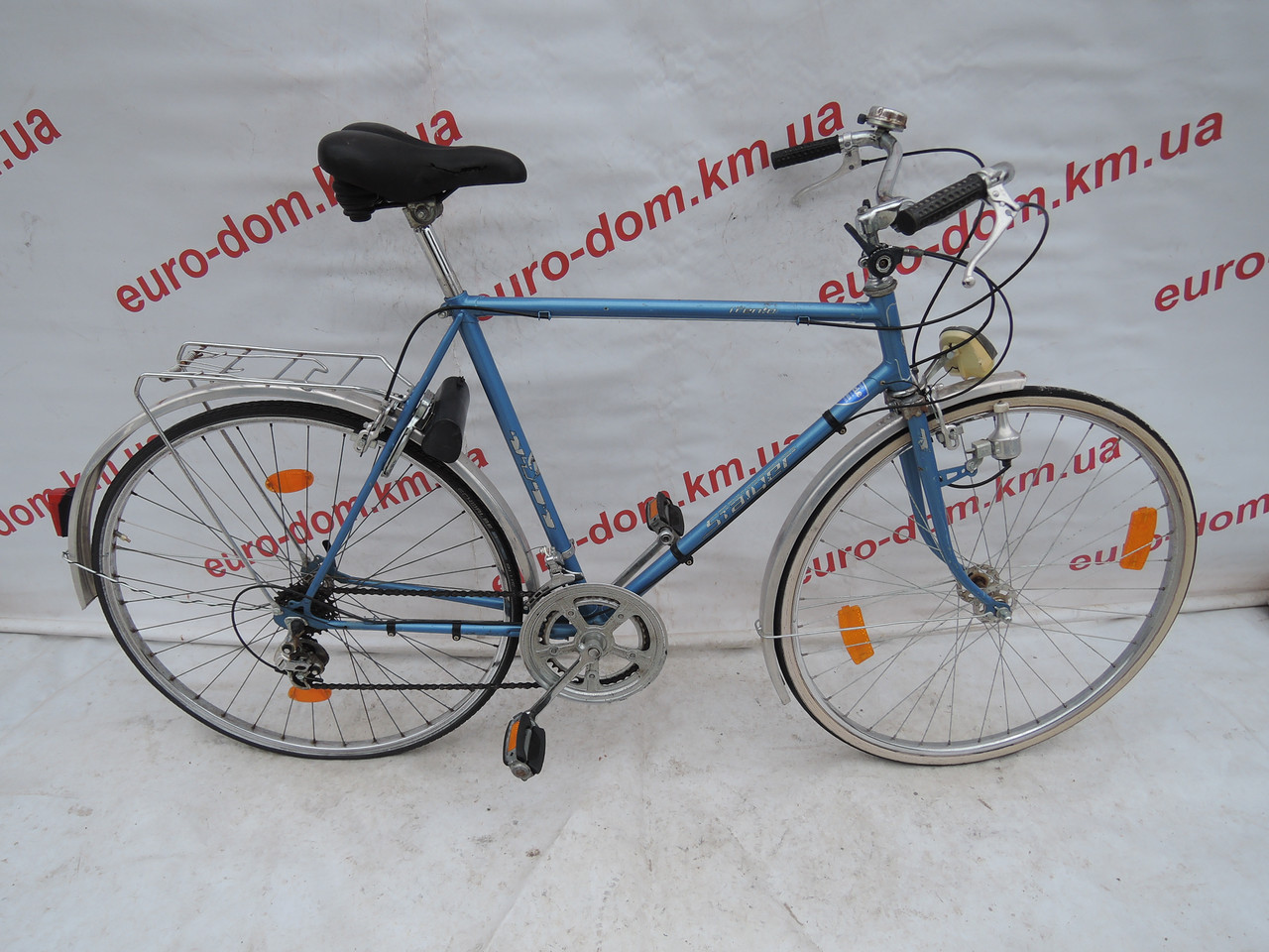 Городской велосипед Staiger 28 колеса 10 скоростей.