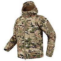 Куртка тактическая Softshell MULTICAM (Мультикам), фото 1